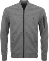 Ralph Lauren Performance Full Zip Sweatshirt Grey