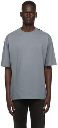 Balenciaga Blue Logo Tab T-Shirt
