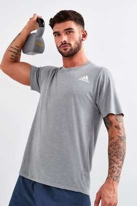 adidas Mens Grey T-Shirt - Grey
