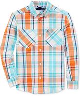Tommy Hilfiger Sebastian Plaid Shirt, Big Boys (8-20)