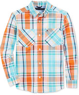 Tommy Hilfiger Sebastian Plaid Shirt, Little Boys (2-7)