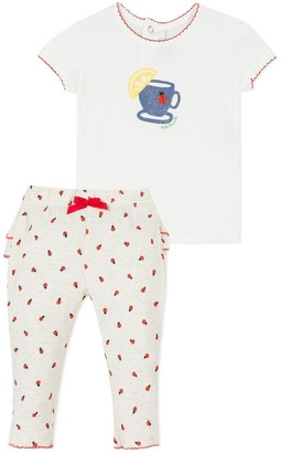 Absorba Cotton T-Shirt/Trousers Outfit, 3-18 Months
