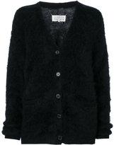 Maison Margiela V-neck cardigan - women - Polyamide/Mohair/Wool - M