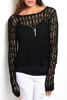 Adore Clothes & More Semi Sheer Sweater