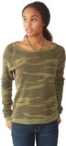 Alternative Dash Printed Eco-Fleece Sweatshirt
