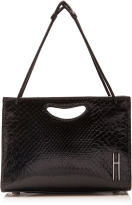 Hayward 1712 Mini Glazed Python Bag