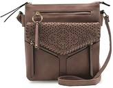 Violet Ray Double Compartment Laser-Cut Crossbody - Tammi
