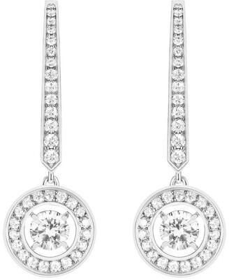 Boucheron White Gold and Diamond Ava Drop Earrings