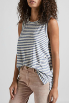 Current/Elliott Current Elliott Muscle Tee Anchor Stripe