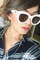 Quay Eyeware x Shay Mitchell Jinx Sunglasses in White