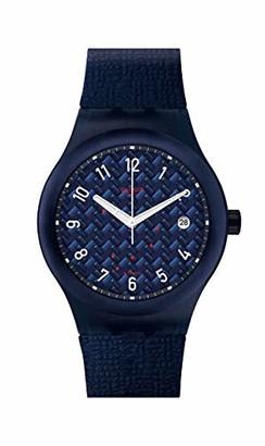 Swatch Men's Quartz Watch with Silicone Strap