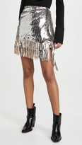 Pinko One By Sequin Skirt
