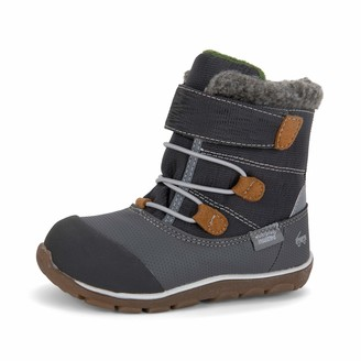 See Kai Run Gilman Waterproof Insulated Boots for Kids Gray 10 M US Toddler