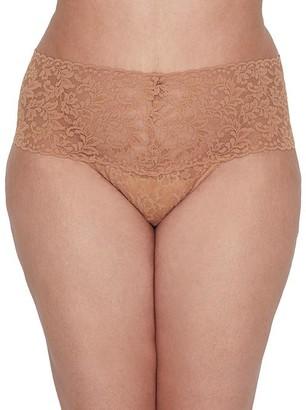 Hanky Panky Plus Size Signature Lace Retro Thong