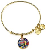 Alex and Ani Art Infusion Romero Britto NY State Expandable Wire Bangle