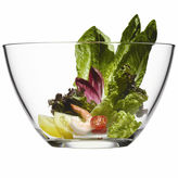 Luigi Bormioli Michelangelo Collection By Large Glass Serving Bowl