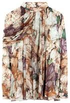 Christopher Kane Printed Silk Blouse