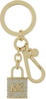 MICHAEL Michael Kors Pavé lock key charm