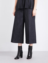 Maison Margiela Wide high-rise cropped jeans