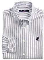 Brooks Brothers Boys' Non-Iron Club-Stripe Shirt - Big Kid