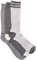 Lucky Brand Chunky Crew Cut Socks - Pack of 3