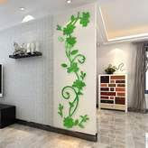YPF Wall sticker Buggy 3D acrylic wall crystal stereo adhering the sofa bed in the TV wall decorating your home