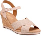 Clarks Collection Women's Helio Latitiude Wedge Sandals