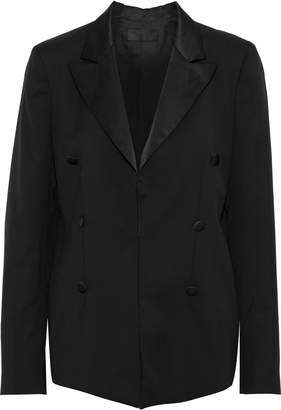 RtA Grayson Button-embellished Wool Blazer