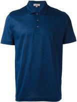 Canali floral print polo shirt - men - Cotton - 52