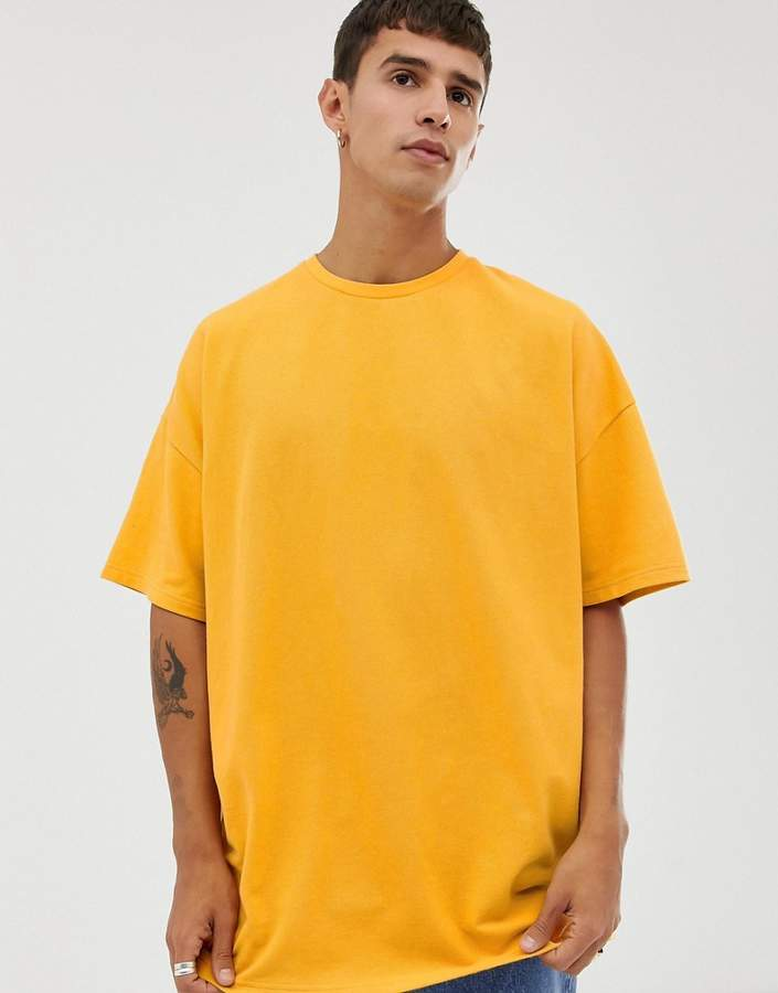 63aa88419e0d Asos Yellow T Shirts For Men - ShopStyle Canada