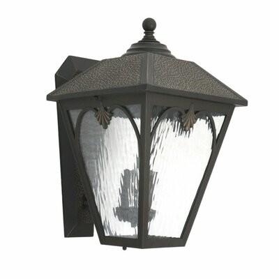 Highland Dunes Ann 2 Light Outdoor Wall Lantern Shopstyle