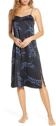 Chalmers Jess Tiger Satin Nightgown