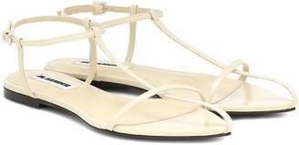 Jil Sander Caged leather sandals