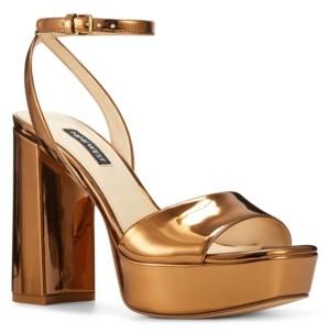 Nine West Women's Zenna Platform Sandals Women's Shoes