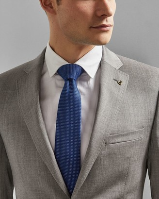 Ted Baker Semi Plain Woven Silk Tie