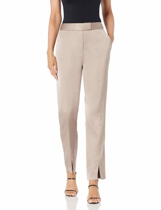 BCBGMAXAZRIA Women's Slit-Front Skinny Pant