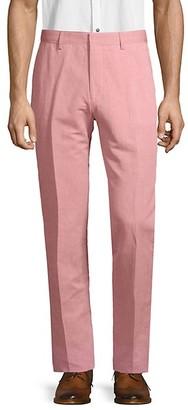 HUGO BOSS Classic Linen Cotton Blend Pants