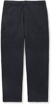 Officine Generale Paolo Stretch-Cotton Twill Trousers
