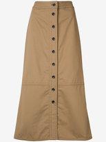 Yigal Azrouel button front skirt - women - Cotton - 2