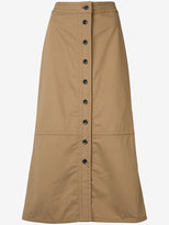 Yigal Azrouel button front skirt - women - Cotton - 4