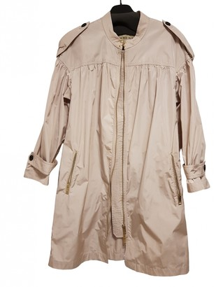 Burberry Gold Polyester Trench coats