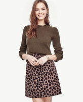 Ann Taylor Petite Cashmere Curved Hem Tunic Sweater