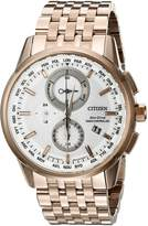 Citizen Men's World Chronograph A-T AT8113-55A Wrist Watches, Dial