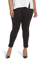 Sejour Plus Size Women's Seamed Leggings