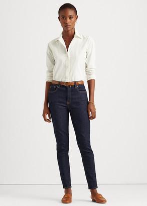 Ralph Lauren High-Rise Skinny Ankle Jean