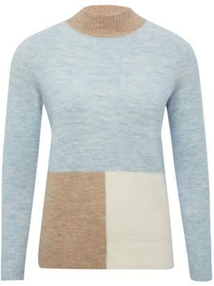 M&Co Petite colour block jumper