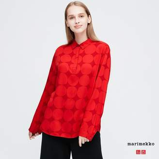 Uniqlo WOMEN Marimekko Long Sleeve Blouse