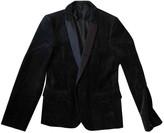 Comme des Garcons Black Velvet Jackets