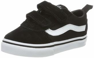 Vans Baby Ward V- Sneakers (Suede/Canvas) Black/White Iju 5 (21.5 EU)