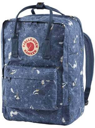 "Fjallraven KANKEN ART 15"" LAPTOP BACKPACK - BLUE FABLE"